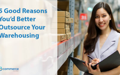 5 Good Reasons You'd Better Outsource Your Warehousing